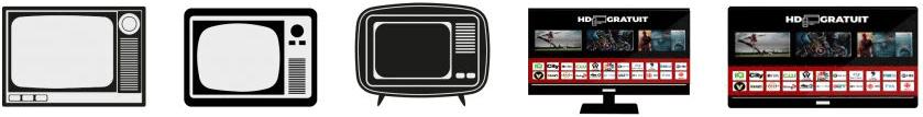 Évolution téléviseurs
