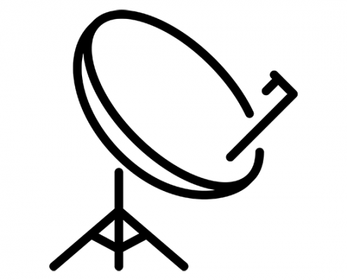 Antenne télévision satellite