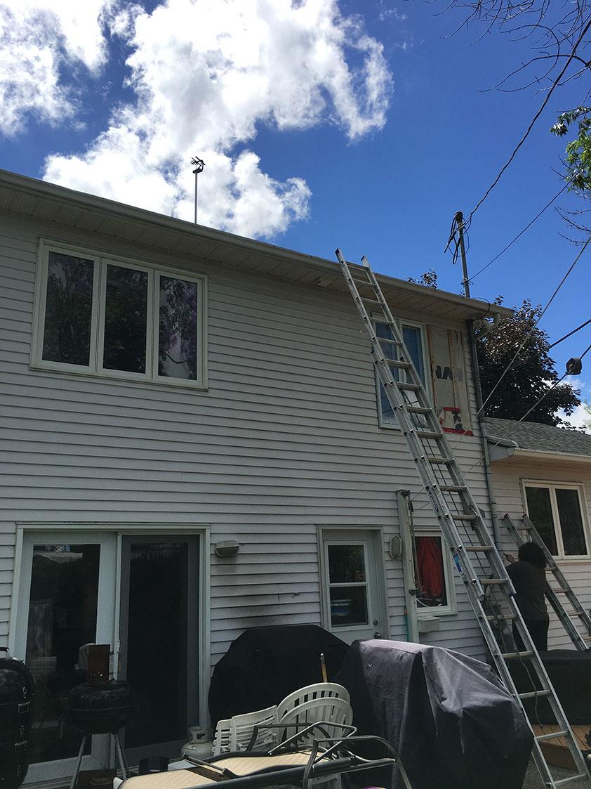 Installation antenne tv télévision Boucherville